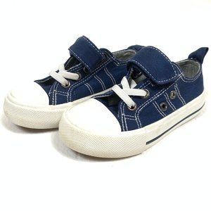 Baby Cute Sneakers Shoes Size 1 Blue White Velcro